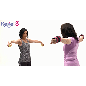 How To Strengthen The Pelvic Floor Using Arm Weights