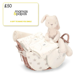 Win a £50 Mamas & Papas Gift Card
