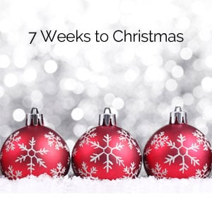 7 Weeks to Christmas - Kegel8 Christmas Countdown