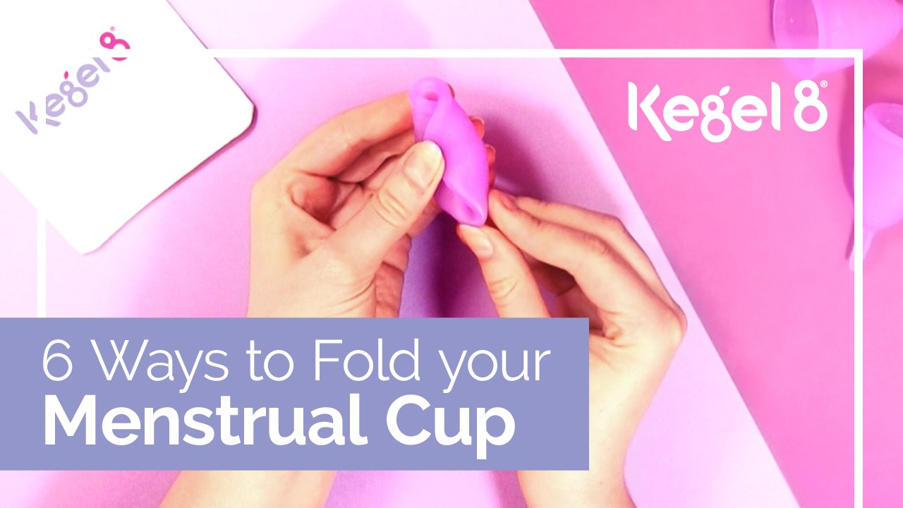 6 Easy Ways to Fold Your Menstrual Cup