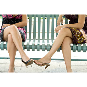 I Have a 'Friend' Who Wets Herself When She Laughs - Stress Incontinence