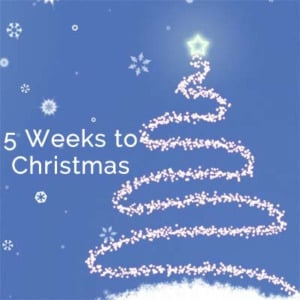 It's 5 Weeks to Christmas – Kegel8 Christmas Countdown