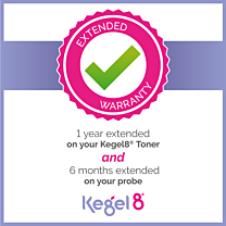 Kegel8 Pelvic Toner Unit & Probe Extended Warranty