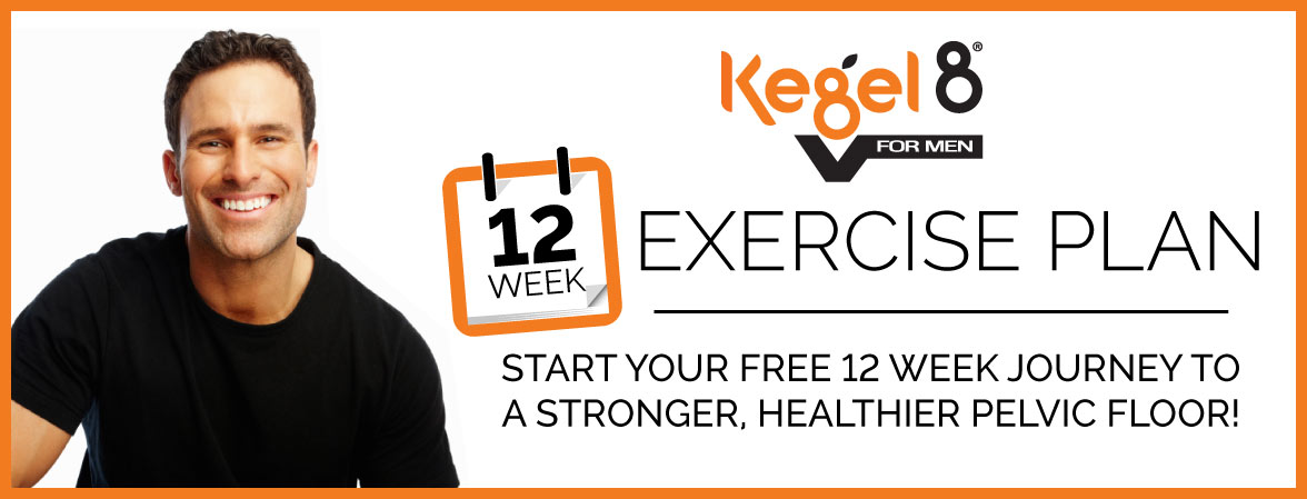 Kegel8 V for Men 12 Week Exercise Guide Sign Up