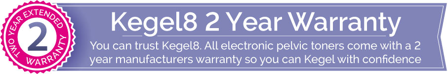 kegel8 2 year warranty
