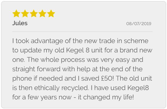 Review of the Kegel8 Pelvic Toner Trade In Scheme
