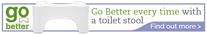Go Better Toilet Stool Reduces Strain