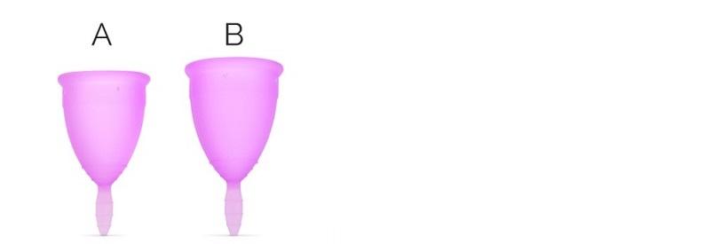Kegel8 Menstrual Cup Sizes