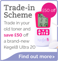 Save £50 off a new Kegel8 Ultra 20 when you trade in your old device