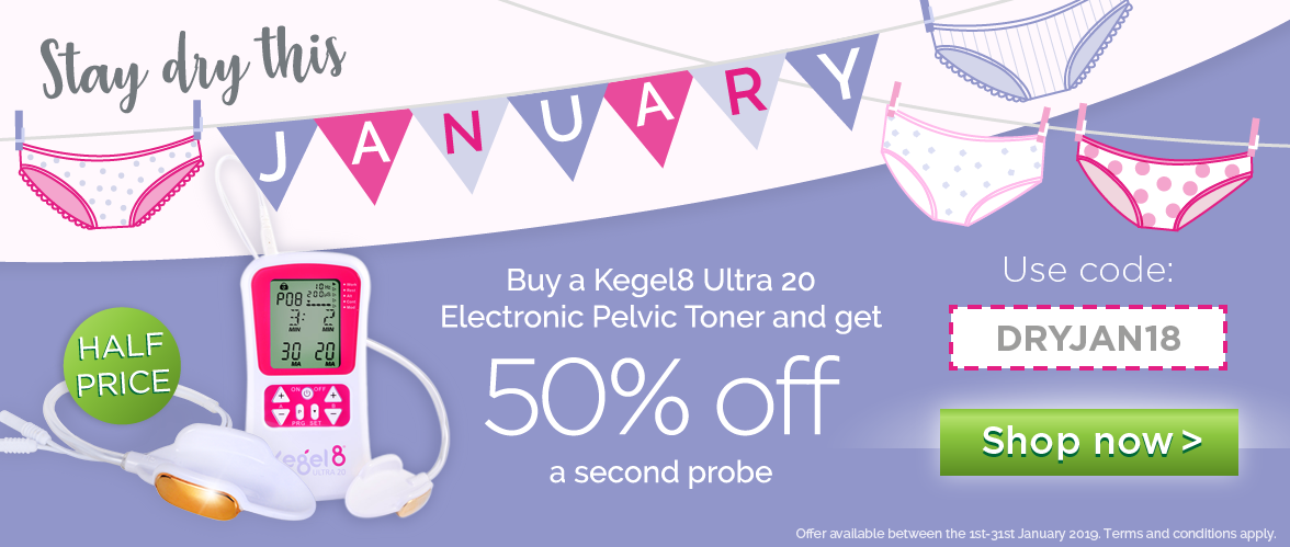 Get a second probe for half price when you purchase a Kegel8 Ultra 20