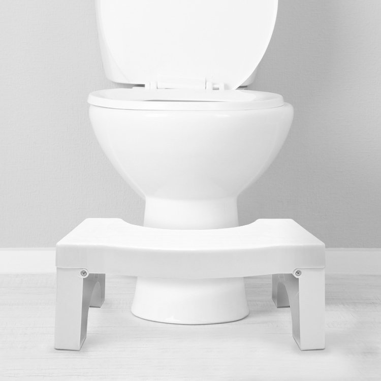 Using a toilet stool puts your body at just the right angle to empty your bowels easily, protecting your pelvic floor.