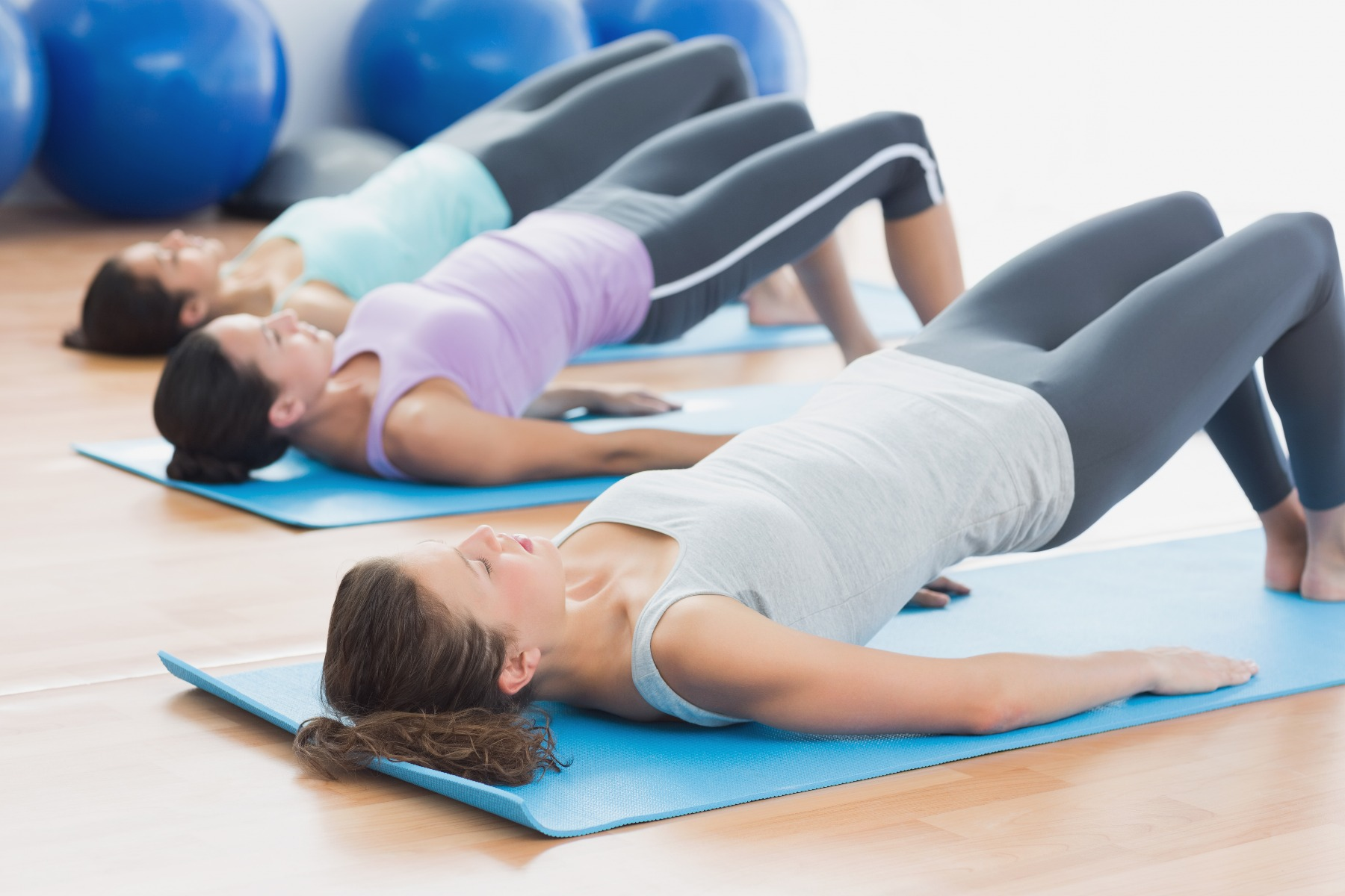 Modern Pilates incorporates deep breathing and pelvic floor contractions. Even though the movements are not designed to specifically strengthen your pelvic floor, you may notice an improvement.