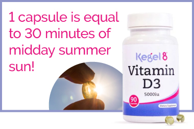 Kegel8 Vitamin D3 for Pelvic Floor Muscle Exercises