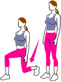 Kegel8 Vaginal Cones Exercise Plan Squat