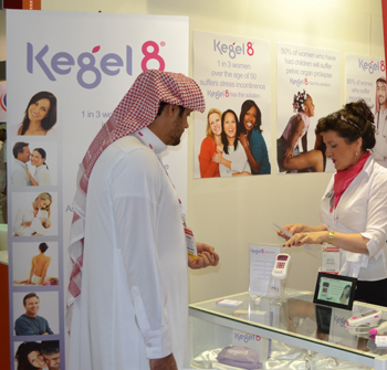 Kegel8 at Arab Health 2013