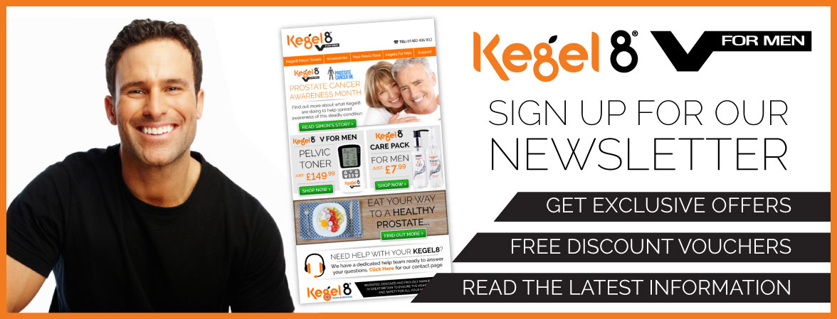 Kegel8 V for Men Newsletter Sign Up
