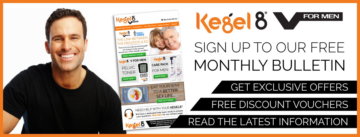 Kegel8 V For Men Newsletter