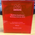 Kegel8's winning evening at the Medilink Business Healthcare Awards!