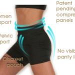 EVB Sports Shorts For Weak Pelvic Floor Muscles