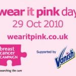 Kegel8 Wearing it Pink for Breast Cancer