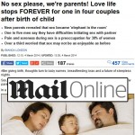 Kegel8 Survey Reveals 'No Sex Please – We're Parents!' In Today's Daily Mail