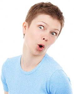 shocked woman vaginal prolapse
