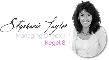 Stephanie Taylor, Managing Director, Kegel8
