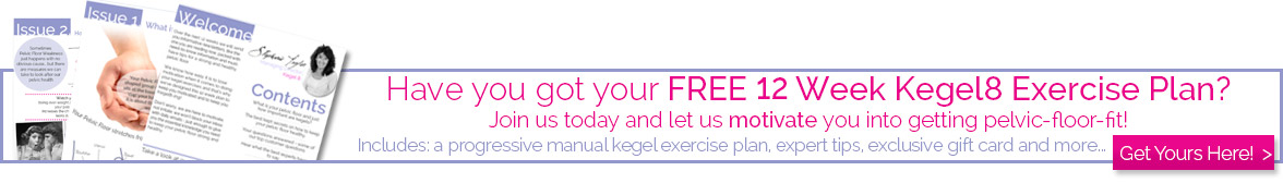 Sign Up for our 12 Week Kegel Exercise Plan